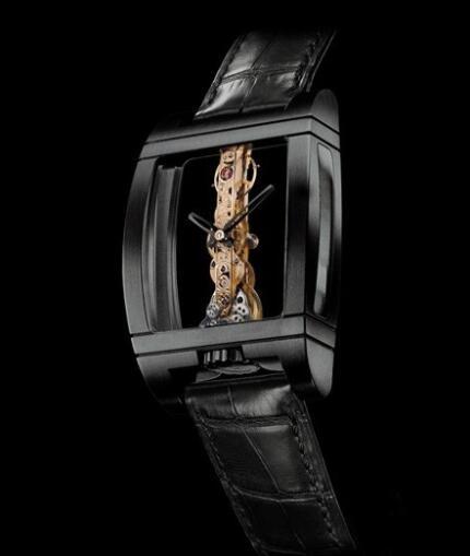 Corum Golden Bridge Black Titanium Replica Watch 113.700.94/0001 0000 Black PVD Titanium