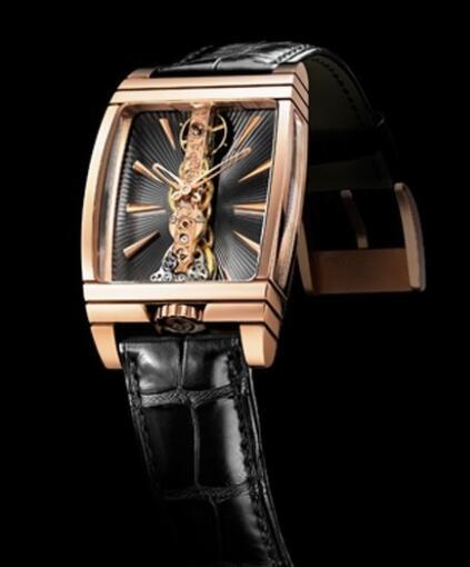 Corum Golden Bridge Replica Watch 113.770.55/0001 GN01 Red gold