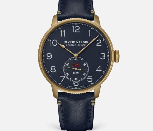Ulysse Nardin Marine Torpilleur Military 44 mm Limited Edition Replica Watch Price 1187-320LE/63