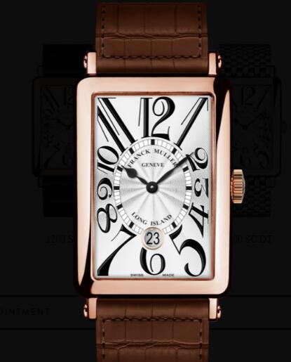 Franck Muller Long Island Men Replica Watch for Sale Cheap Price 1200 SC DT 5N MARRON