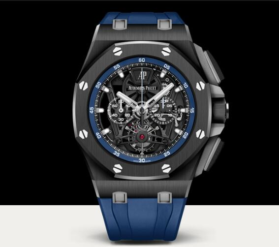 Replica Audemars Piguet ROYAL OAK OFFSHORE TOURBILLON CHRONOGRAPH 44mm AP Watch 26407CE.OO.A030CA.01