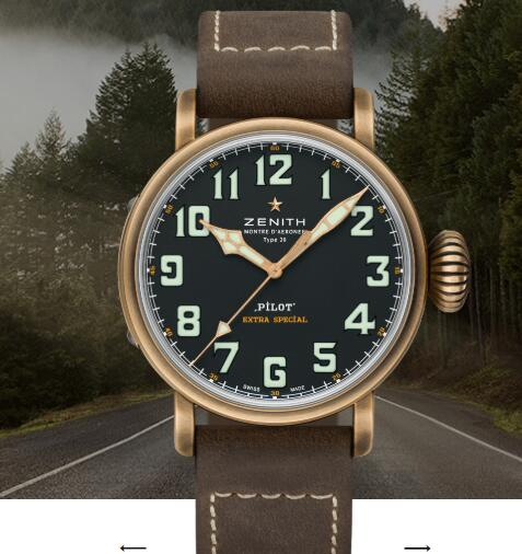 Zenith Pilot Replica Watch Zenith PILOT TYPE 20 EXTRA SPECIAL Bronze watch for men 29.2430.679/21.C753
