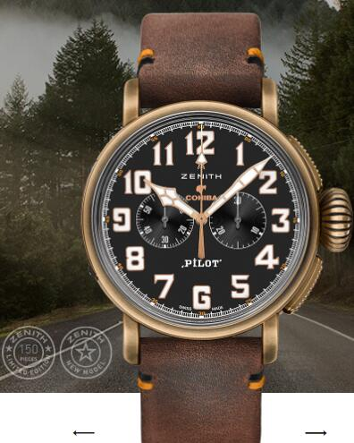 Zenith Pilot Replica Watch PILOT TYPE 20 CHRONOGRAPH COHIBA EDITION 45mm 29.2432.4069/27.C794