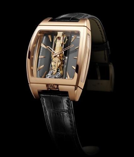 Corum Golden Bridge Automatic Replica Watch 313.150.55/0002 FK02 Red gold