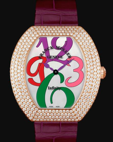 Franck Muller Infinity Replica Watch Cheap Price 3540 QZ A COL DRM D4 5N bbord