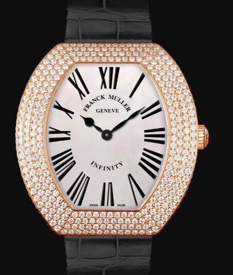 Franck Muller Infinity Replica Watch Cheap Price 3540 QZ R D4 5N chif noir