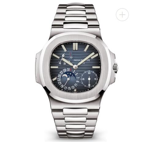 Patek Philippe Nautilus Watches Cheap Prices for Sale Replica Nautilus Moon Phase Stainless Steel Watch 5712/1A-001