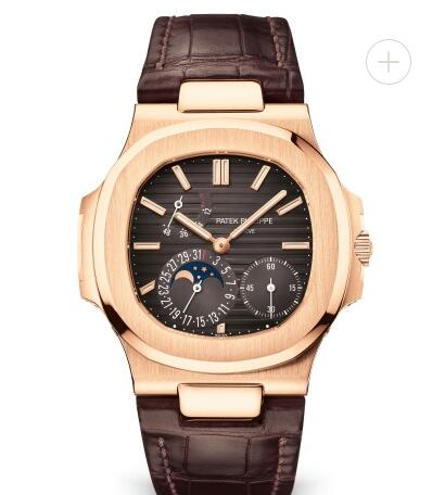 Patek Philippe Nautilus Watches Cheap Prices for Sale Replica Nautilus Moon Phase Rose Gold Watch 5712R-001
