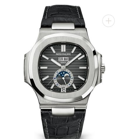 Patek Philippe Nautilus Watches Cheap Prices for Sale Replica Black Strap Stainless Steel Watch 5726A-001