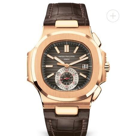 Patek Philippe Nautilus Watches Cheap Prices for Sale Replica Nautilus Chronograph Date Rose Gold 5980R-001