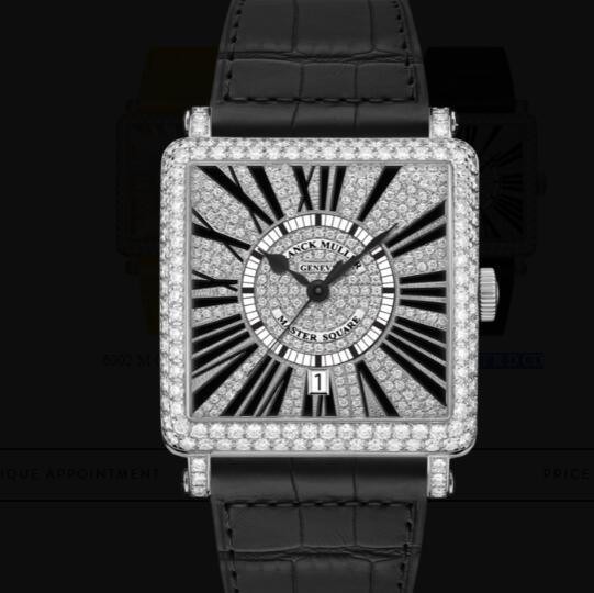 Franck Muller Master Square Ladies Replica Watch for Sale Cheap Price 6000 H SC DT R D CD