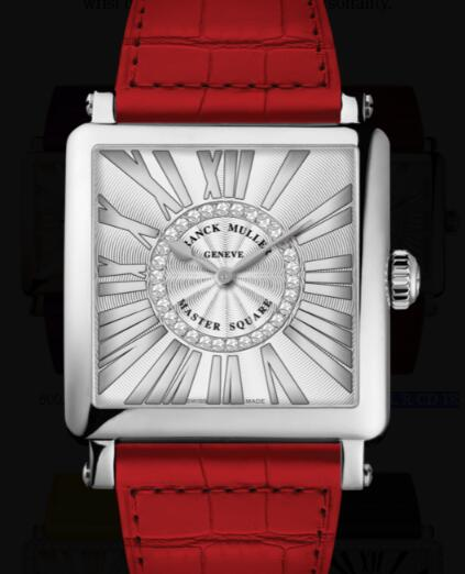 Franck Muller Master Square Ladies Replica Watch for Sale Cheap Price 6002 M QZ REL R CD 1R