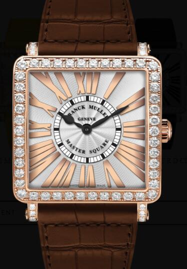 Franck Muller Master Square Ladies Replica Watch for Sale Cheap Price 6002 M QZ REL R D 1R