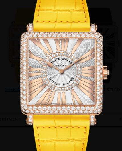 Franck Muller Master Square Ladies Replica Watch for Sale Cheap Price 6002 M QZ REL R D CD 1R