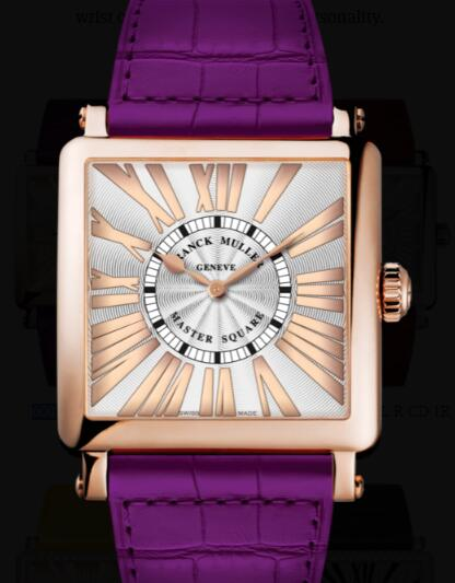Franck Muller Master Square Ladies Replica Watch for Sale Cheap Price 6002 M QZ REL R