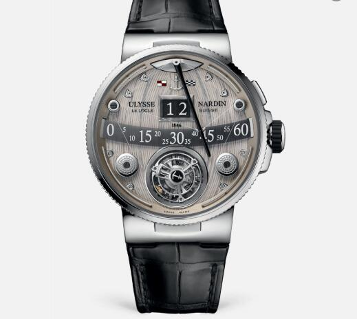 Ulysse Nardin Grand Deck Marine Tourbillon 44 mm Limited Edition Replica Watch Price 6309-300/GD