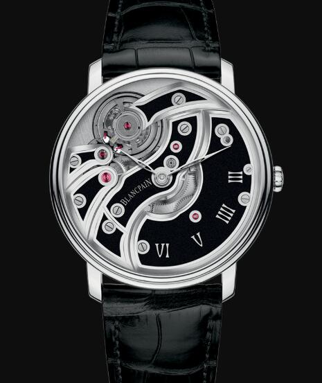 Blancpain Villeret Watch Review Mouvement Inversé Replica Watch 6616 1530 55B