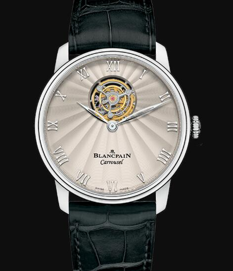 Blancpain Villeret Watch Review Carrousel Volant Une Minute Replica Watch 66228 3442 55B