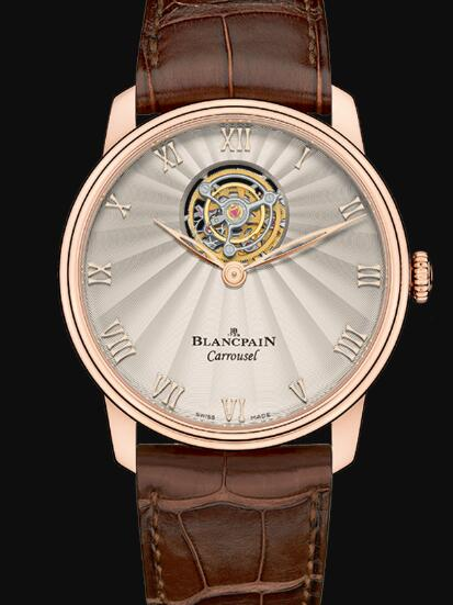 Blancpain Villeret Watch Review Carrousel Volant Une Minute Replica Watch 66228 3642 55B