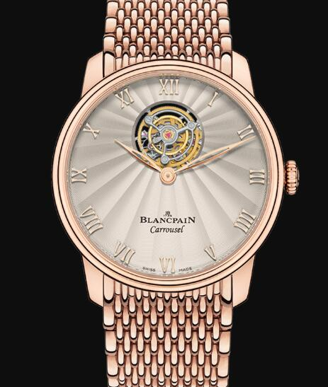 Blancpain Villeret Watch Review Carrousel Volant Une Minute Replica Watch 66228 3642 MMB