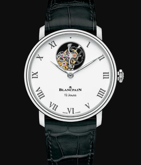 Blancpain Villeret Watch Review Tourbillon Volant Une Minute 12 Jours Replica Watch 66240 3431 55B