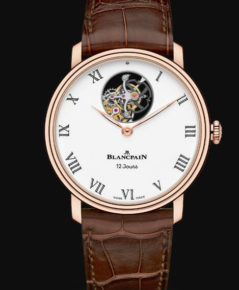 Blancpain Villeret Watch Review Tourbillon Volant Une Minute 12 Jours Replica Watch 66240 3631 55B