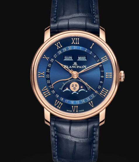 Blancpain Villeret Quantième Complet Replica Watch BLANCPAIN'S MOST CLASSIC COLLECTION 6654 3640 55B