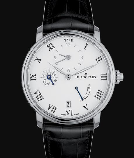 Blancpain Villeret Watch Price Review Demi-Fuseau Horaire 8 Jours Replica Watch 6661 1531 55B