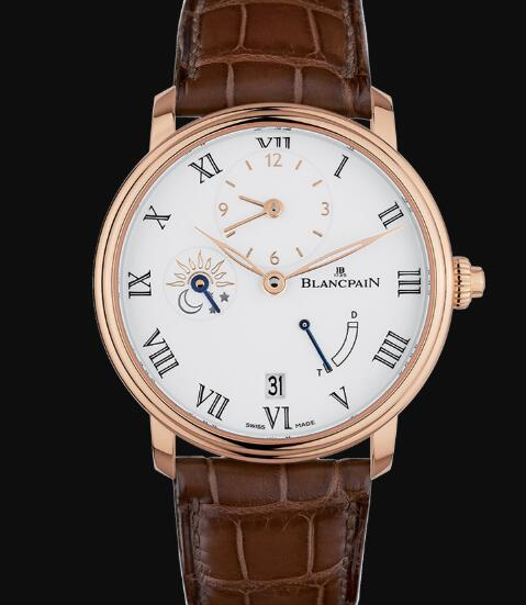 Blancpain Villeret Watch Price Review Demi-Fuseau Horaire 8 Jours Replica Watch 6661 3631 55B
