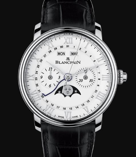 Blancpain Villeret Watch Price Review Chronographe Monopoussoir Replica Watch 6685 1127 55B