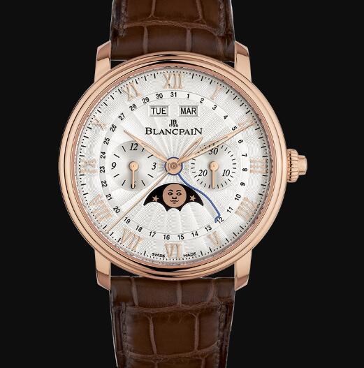 Blancpain Villeret Watch Price Review Chronographe Monopoussoir Replica Watch 6685 3642 55B