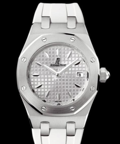 Replica Audemars Piguet Watch Lady Royal Oak 67620ST.OO.D010CA.01Steel - Rubber Bracelet