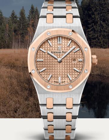 Audemars Piguet Royal Oak Quartz 33mm Replica Watch 67650SR.OO.1261SR.01
