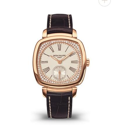 Cheapest Patek Philippe Gondolo Small Seconds Rose Gold Replica Watch 7041R-001