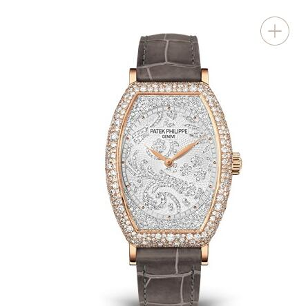 Cheapest Patek Philippe Gondolo Diamond & Rose Gold Ladies Replica Watch 7099R-001