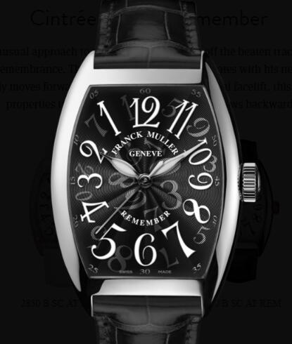 Buy Franck Muller Cintrée Curvex Remember Replica Watch for sale Cheap Price 7880 B SC AT REM Black