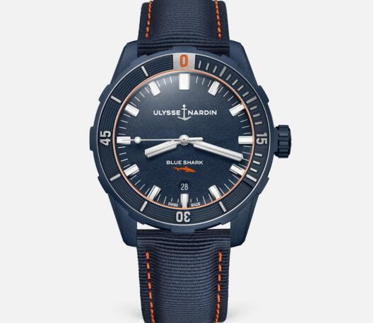 Ulysse Nardin Diver 42mm Limited Edition Replica Watch Price 8163-175LE/93-BLUESHARK