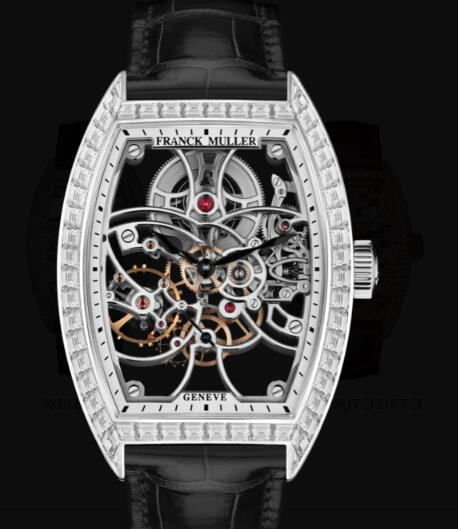 Franck Muller Cintree Curvex Men Skeleton Replica Watch for Sale Cheap Price 8880 B S6 SQT
