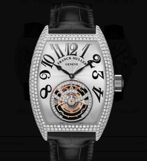 Franck Muller Giga Tourbillon Replica Watches for sale Cheap Price 8889 T G DF VIN D8 FM D OG