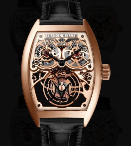 Franck Muller Giga Tourbillon Replica Watches for sale Cheap Price 8889 T G SQT BR 5N