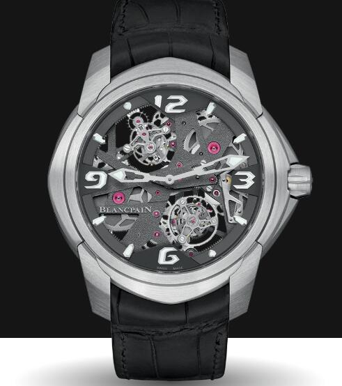 Blancpain Spécialités Watches for sale Blancpain Tourbillon Carrousel Replica Watch Cheap Price 92322 34B39 55