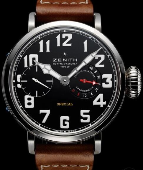 Replica Watch Zenith Pilot Montre d'Aéronef Type 20 95.2420.5011/21.C723 Titanium - Calfskin Leather Strap