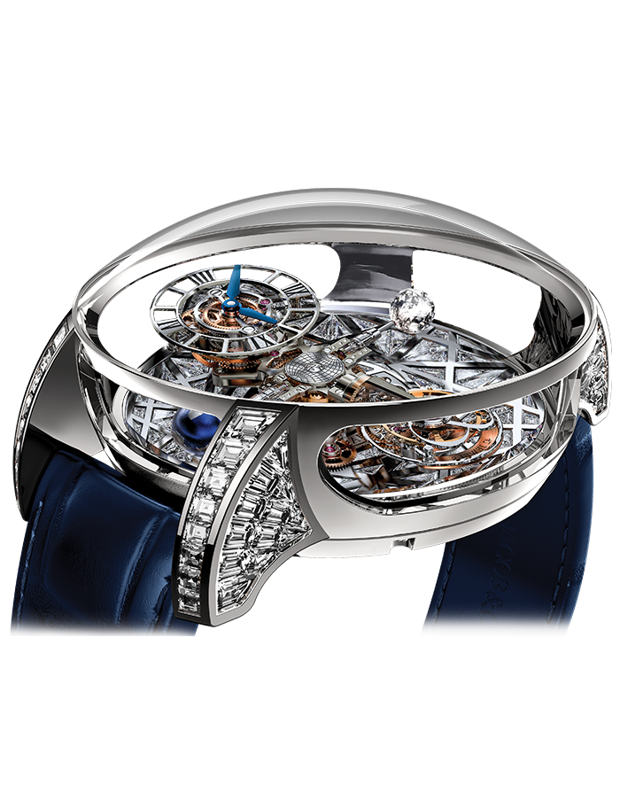 Jacob & Co. Astronomia Tourbillon Baguette Meteorite Watch Replica AT800.30.BD.HE.A Jacob and Co Watch Price