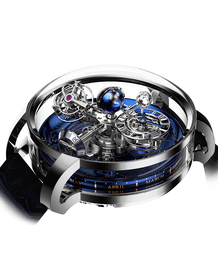 Jacob & Co. Astronomia Sky Platinum Watch Replica AT110.60.AA.WD.A Jacob and Co Watch Price