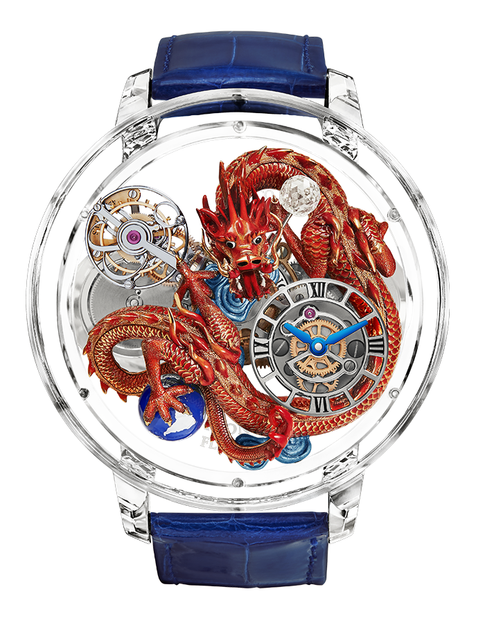 Jacob & Co. Astronomia Flawless Imperial Dragon Watch Replica AT125.80.DR.UA.B Jacob and Co Watch Price