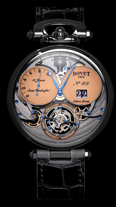 Replica Bovet Watch Virtuoso VIII Chapter Two DLC-SLN T10GD051
