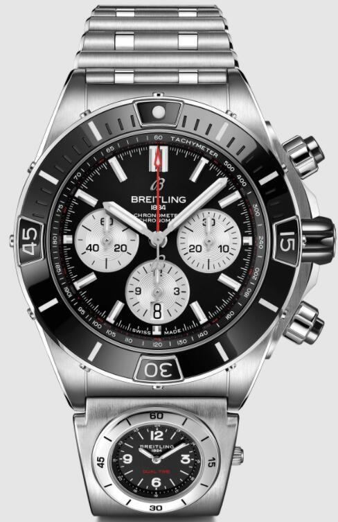 Replica Breitling SUPER CHRONOMAT B01 44 UTC AB0136251B1A2 Watch
