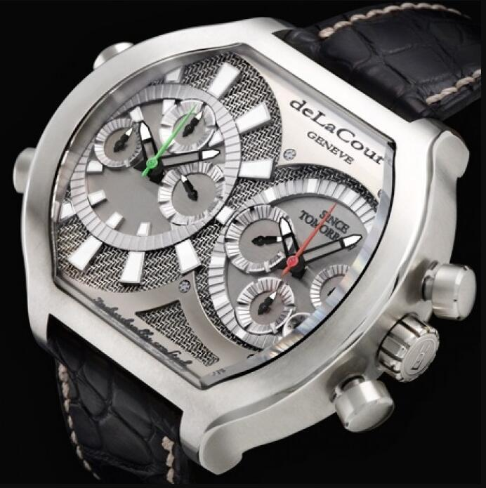 Replica DeLaCour Bichrono Tech DCBCT-WAST Watch
