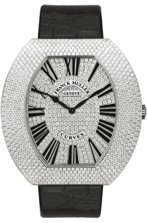 Franck Muller Replica Infinity Curvex 3550 QZ R D6 CD WG watch