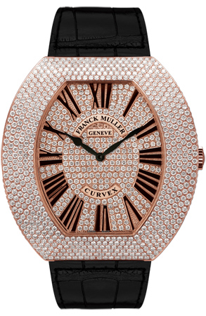 Franck Muller Replica Infinity Curvex 3550 QZ R D6 CD watch
